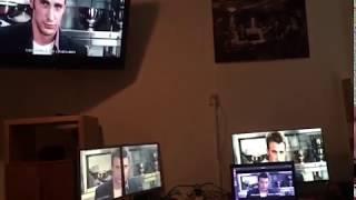 Raspberry pi zero - videowall - piwall - 5 monitor 720p demo - fantastic 4