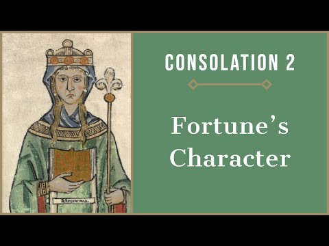 Fortune's Character: Consolation of Philosophy, Book 2
