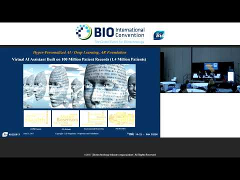 BIO 2017 - Empathetic AI: Moderator - Sanjeev Wadhwa - AI Virtual Assistant for Health