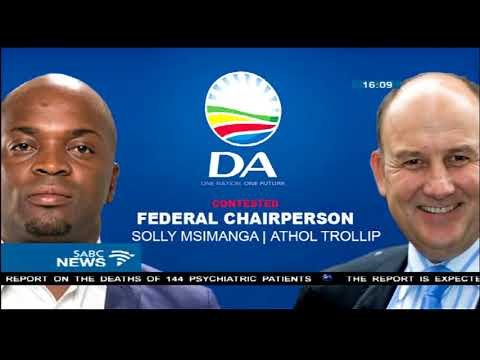 Trollip, Msimanga battle it out for DA federal chairperson position