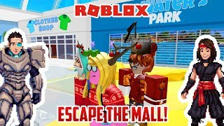 WE MUST ESCAPE THE MALL | Roblox Mall Obby