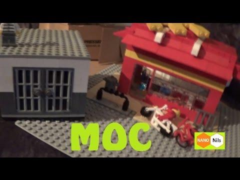 LEGO - McDonalds & Gefängnis (Jail) MOC