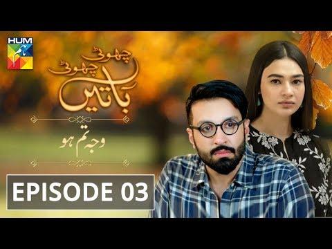 Wajah Tum Ho Episode #03 Choti Choti Batain HUM TV Drama 18 August 2019