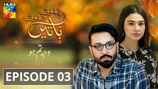 Wajah Tum Ho Episode #03 Choti Choti Batain HUM TV Drama 18 August 2019
