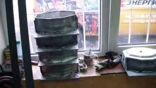 Сварка алюминиевых семафоров полуавтоматом ПДГ 315