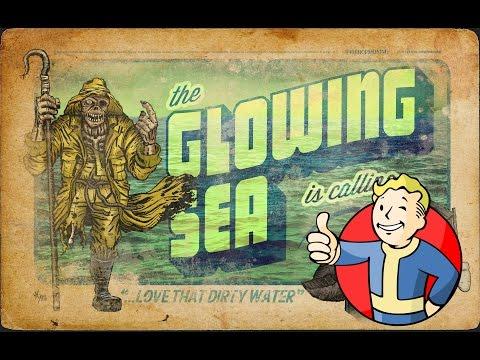 Fallout 4:  Exploring The Glowing sea + Quest Walkthrough