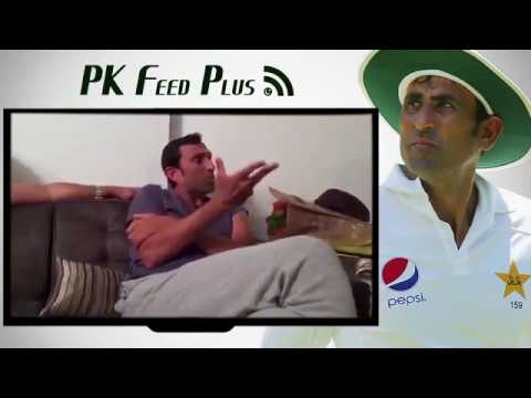 Pakstani Cricketer Younis Khan praising Rahul Dravid's decency, hardwork and behaviour
