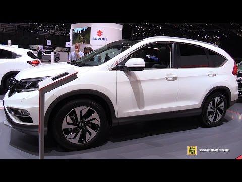 2016 Honda CRV Diesel - Exterior and Interior Walkaround - 2016 Geneva Motor Show