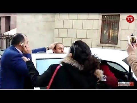 """Jurnalist Əfqan Sadıqlı saxlanılıb polis bölməsinə aparıldı:""""Əməlli başlı qanunsuzluqdu""""-S. Sadıqova"""