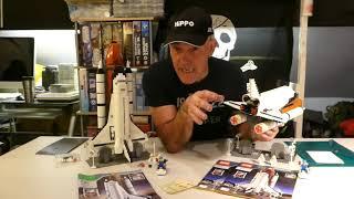 Fake lego VS Lego 10231 Lepin 16014 Space Shuttle Build