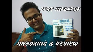 DIGITAL TYRE INFLATOR - BEST FOR CARS, BIKES, FOOTBALL - UNBOXING & REVIEW