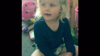 Three year olds attempt at Taylor Swift - Shake it off