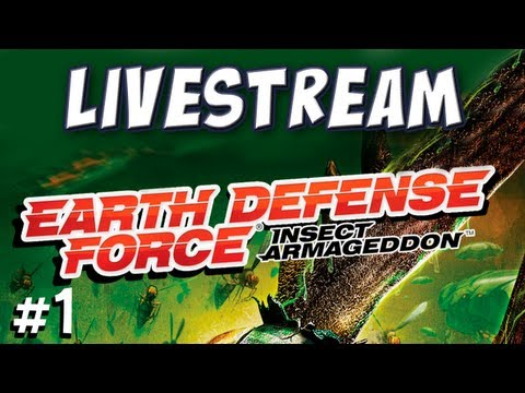 Yogscast - EDF Insect Armageddon Part 1: Livestream Highlights