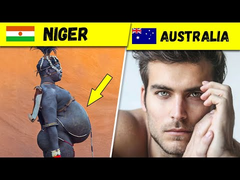 What do Men's Beauty Standards Look like in Different Countries