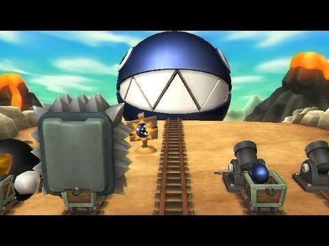 Mario Party 9 - Free Play - Chain Chomp VS King Bob-omb VS Thwomp VS Bob-omb