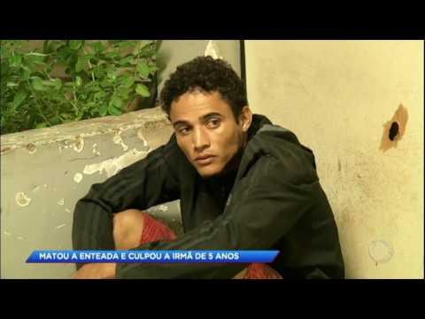 Padrasto mata enteada e culpa criança de 5 anos pelo crime