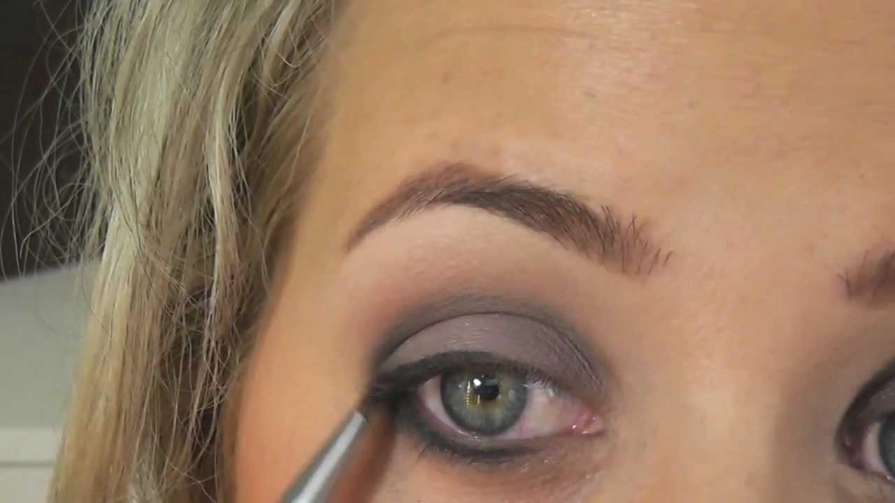 Neuer Trend Eyeliner Unter Dem Auge Amu Grau Youtube