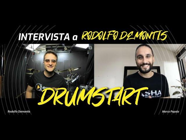 Rodolfo Demontis presenta DrumStart Live   Pasha Cymbals