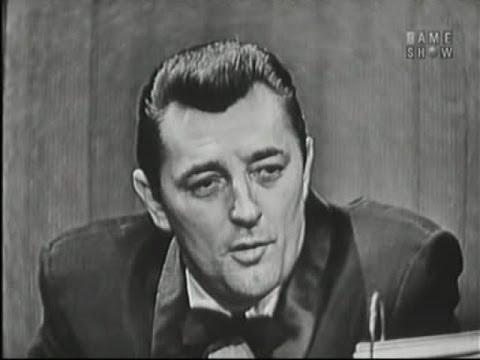 What's My Line?  Robert Mitchum;  Martin Gabel panel Mar 3, 1957