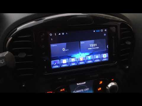 Штатная магнитола Nissan Juke