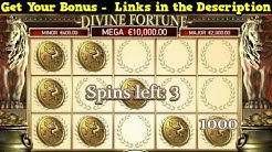 Divine Fortune Online Slot - Get $3000 FREE To Play Online Casino Slots Now!