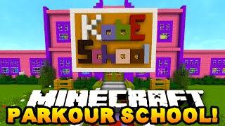 Minecraft PARKOUR SCHOOL! #2 - w/ The Pack