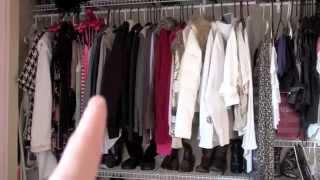 Closet & Dresser Tour!