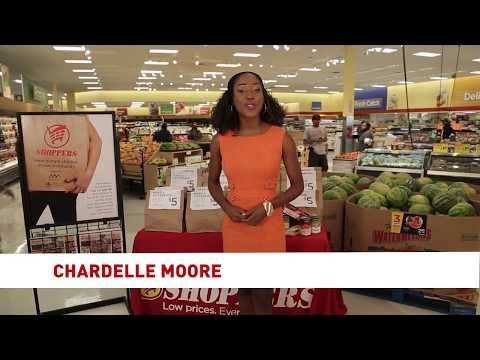 Chardelle Moore's  Shoppers Commercial 2018