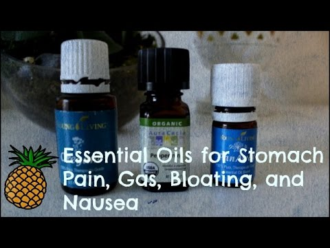 🍍-essential-oils-for-stomach-pain,-gas,-bloating,-and-nausea