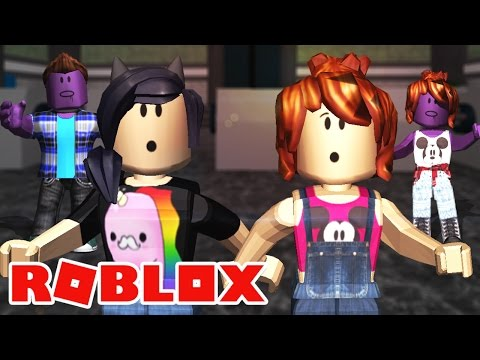 NÃO VÃO NOS PEGAR! Ft. Ju e Cris Minegirl - Roblox (The Roblox Plague)