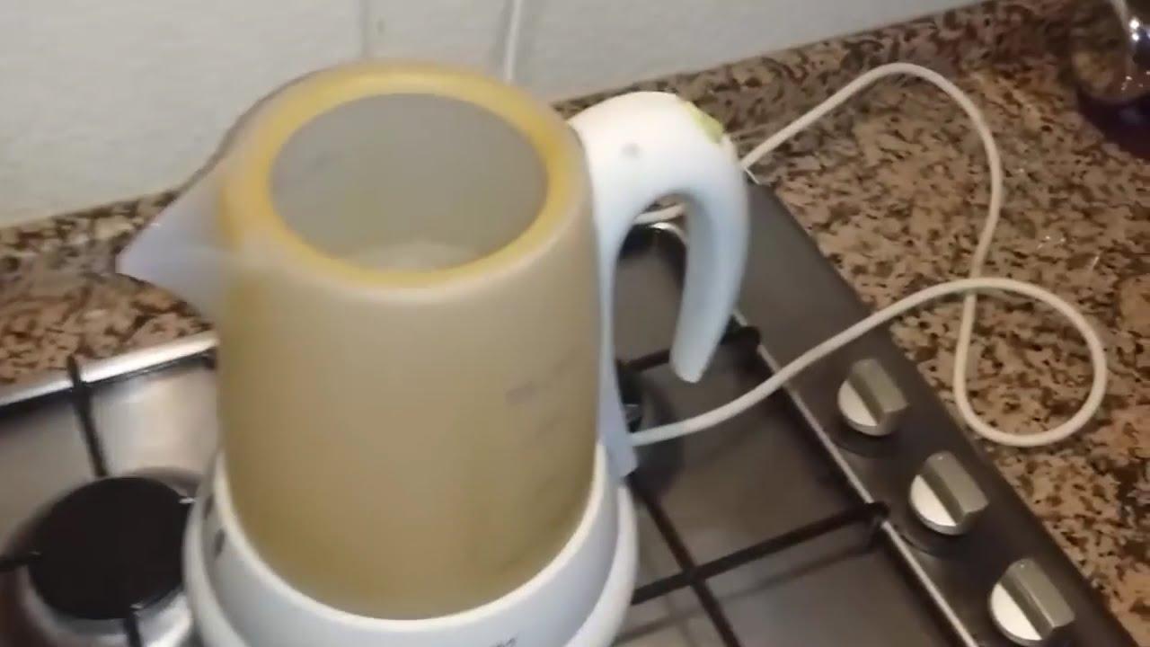 Kireçlenmiş su ısıtıcılar nasıl temizlenir