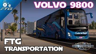 VOLVO 9800 CHARTER BUS MOD - VIVA MEXICO
