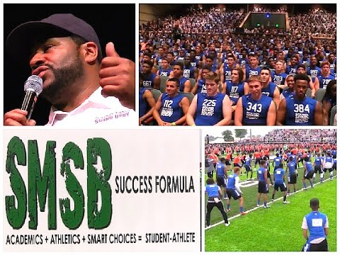 Day 1 : Sound Mind Sound Body :  Football Camp 2015 ( Detroit , Michigan)