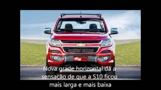 Comparativo FORD RANGER X CHEVROLET S10 X TOYOTA HILUX