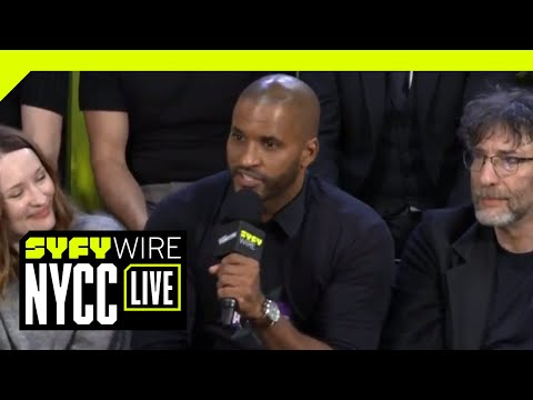 American Gods Cast On New Season, Culture And Difficult Names | NYCC 2018 | SYFY WIRE
