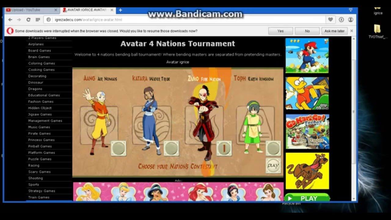 Avatar 4 Nations Tournament