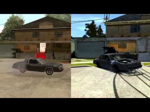 GTA San Andreas - vs - GTA IV San Andreas (1080p)