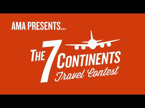 AMA Travel – The 7 Continents Travel Contest