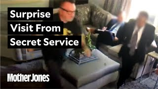 Exclusive: Secret Service Visits Tom Arnold After Trump Tweets