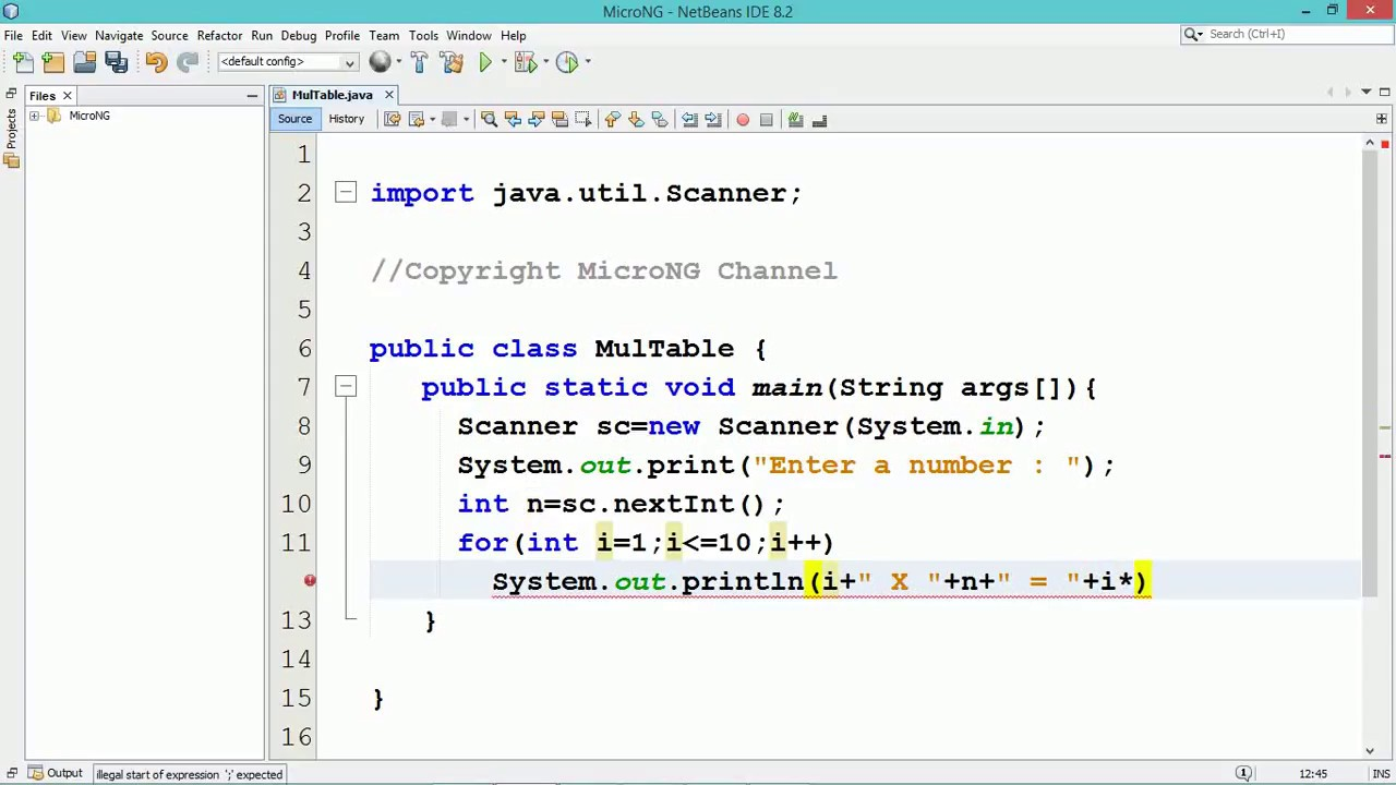 how to create a table in oracle using java code