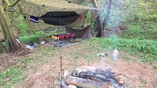 2 NIGHTS HAMMOCK CAMPING FISHING AND SPIT ROAST PORK