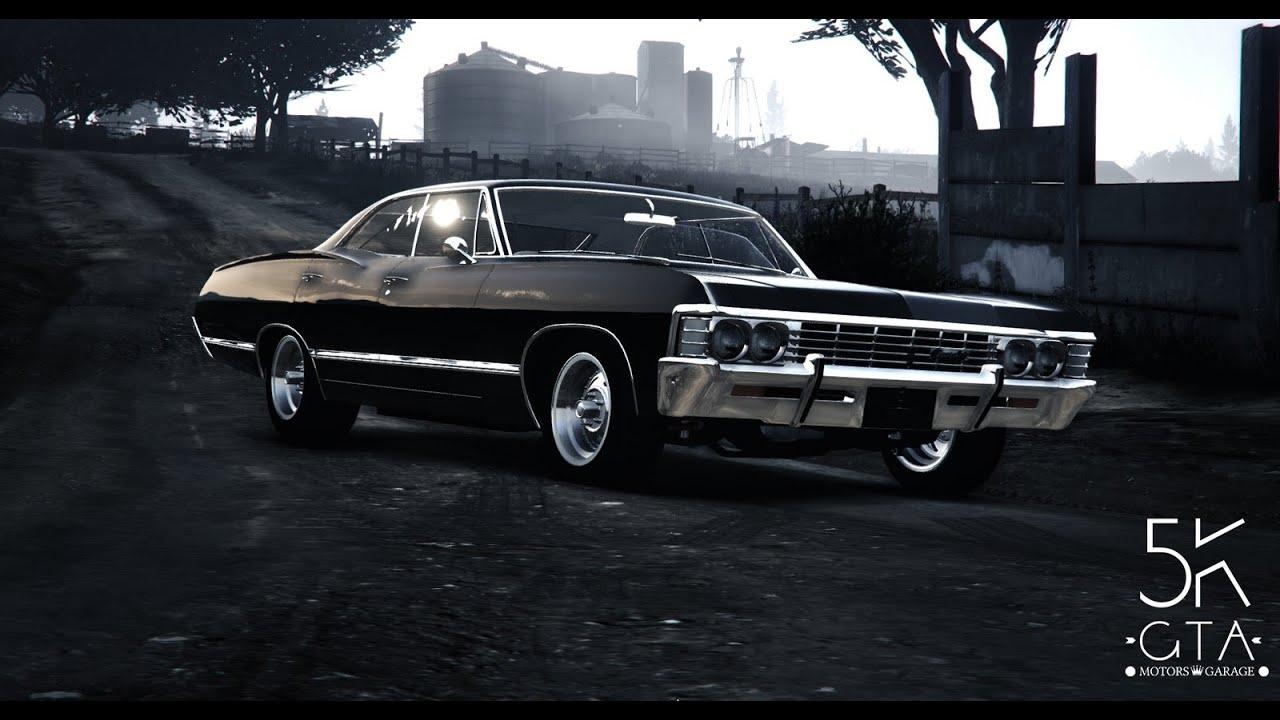 gta 5 chevrolet impala 1967 supernatural youtube. Black Bedroom Furniture Sets. Home Design Ideas