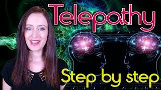 How To Do Telepathy Step by Step QUICKLY - An Exercise | Nicky Sutton