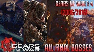 Evolution of Gears of War Final Bosses   Gears of War 1-4 (2006-2016)   HD