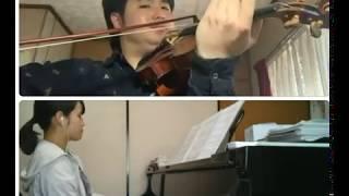 #はなれて奏でよう 『トゥモロー・アヘッド』(Tomorrow's Ahead) 作曲:西下航平  ヴァイオリン : 井川知海 ピアノ : 兒玉千沙子