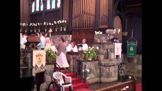 lift your voice rejoicing mary and alleluia alleuia give thanks to the risen lord.wmv