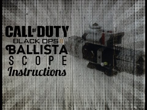 call of duty instructions