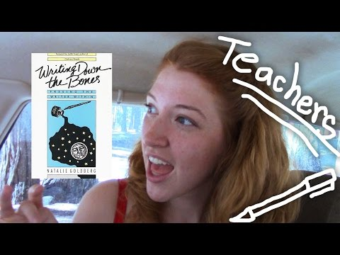 Week 4: Finding Your Teachers Like Natalie Goldberg