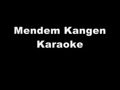 Mendem Kangen campursari karaoke (no vocal)