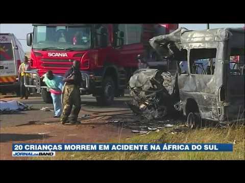 20 crianças morrem em acidente na África do Sul